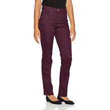 Brax Raphaela by Damen Skinny Jeans Ina Fame (Super Slim) 17-6227, Rot (Purple 83), W36/L30 (Herstellergröße: 46K)