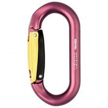 Grivel - Sym K9G - Verschlusskarabiner rosa