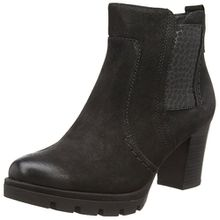 Jana Damen 25305 Chelsea Boots, Schwarz (Black), 38.5 EU