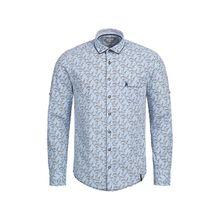 MarJo Trachtenhemd Langarmhemden blau Herren