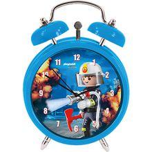 Wecker Playmobil Feuerwehr blau-kombi