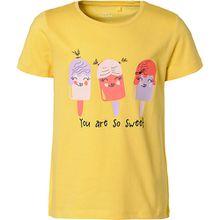 T-Shirt NMFVIOLET  gelb Mädchen Kleinkinder