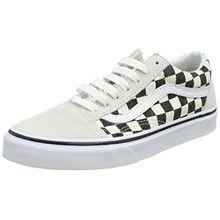 Vans Unisex-Erwachsene Old Skool Sneaker, Elfenbein (Checkerboard), 47 EU