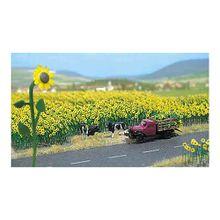 Busch Modelleisenbahn Sonnenblumen (60 Stk.) - Spur H0