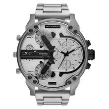 DIESEL Uhr schwarz / silber