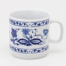"""Kahla Kaffeebecher """"Zwiebelmuster"""" blau/weiß"""