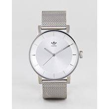adidas - Z04 District - Silberne Uhr mit Netzarmband - Silber