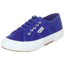 Superga 2750 JCOT Classic, Unisex-Kinder Sneaker,Blau (G88 Intense Blue),27 EU