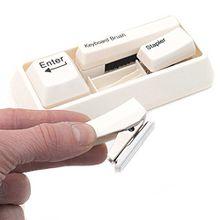 Büro Schreibtisch-Set Utensilien-Set Keyboard Tastatur mit Tacker Locher Schreibtischset