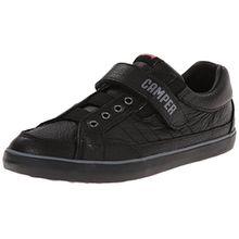 CAMPER Unisex-Kinder Pursuit Kids Sneakers, Schwarz (Black 021), 36 2/3 EU