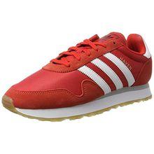 adidas Unisex-Erwachsene Haven Sneakers, Rot (Red/Footwear White/Gum), 44 EU