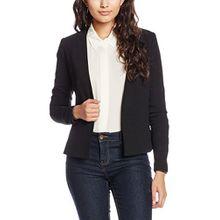 PIECES Damen Pcnattie Blazer Noos, Schwarz (Black), 42 (Herstellergröße: XL)