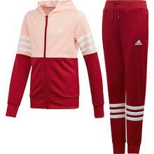 Trainingsanzug YG HOOD PES TS  pink Mädchen Kinder