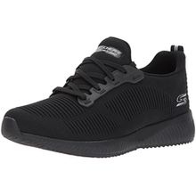 Skechers Damen Bobs Squad-Photo Frame Slip on Sneaker, Schwarz (Black), 39 EU
