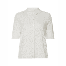 Bluse aus Spitze Modell 'Visualacey'