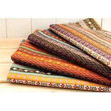 4Stoffe EXOTICAS afrikanischen Farben 'von 50x 70cm zur täglichen Kissen Nägel, Stühlen, Handtaschen, Teppichen, Basteln, Modern, glänzend, Haus... von Open Buy
