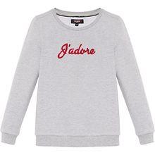 Sweatshirt INDIRA  grau Mädchen Kinder