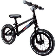 Metall Laufrad Mountainbike Style, schwarz