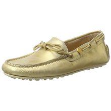 GANT Footwear Damen Montauk Mokassin, Gold (Gold), 37 EU
