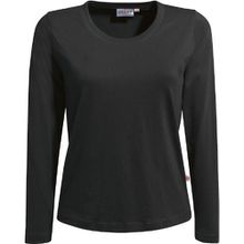 "HAKRO Damen Langarm T-Shirt ""Classic"" - 178 - schwarz - Größe: S"