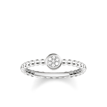 Thomas Sabo Ring weiß D_TR0004-725-14-48