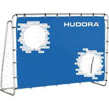 Fußballtor Trainer mit Torwand, 213 cm blau
