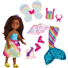 Barbie Dreamtopia 3-in-1 Fantasie Chelsea (brünett)
