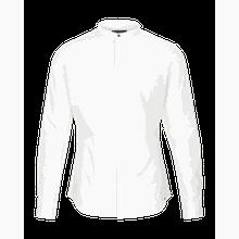 tigha Herren Hemden Ole stretch weiß (white)