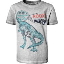 SALT AND PEPPER T-Shirt für Jungen, Dinosaurier grau