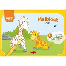 Buch - Kreativ Kids: Malblock Zoo