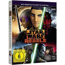 BLU-RAY Star Wars Rebels - Die komplette 3. Staffel (3 Discs) Hörbuch