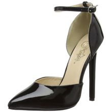 Pleaser Devious SEXY-21 Damen Pumps, Schwarz (Blk pat), EU 36 (UK 3) (US 6)