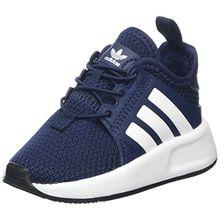 adidas Unisex Baby X_PLR EL Sneaker, Blau (Collegiate Navy/Footwear White), 27 EU
