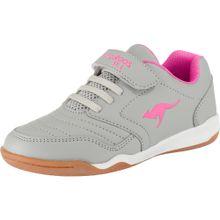 KangaROOS Sportschuhe 'VANDER YARD' grau / pink / weiß