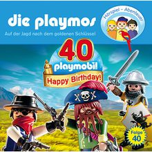 Die Playmos: Auf der Jagd nach dem goldenen Schlüssel, 1 Audio-CD Hörbuch
