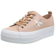 Calvin Klein Jeans Damen Zolah Canvas Sneaker, Pink (Dsk 000), 38 EU