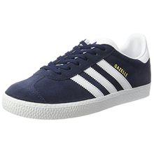 adidas Unisex-Kinder Gazelle Sneakers, Blau (Collegiate Navy/Footwear White/Footwear White), 38 2/3 EU