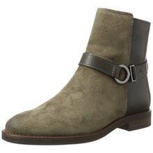 Marc O'Polo Damen Flat Heel Bootie 70814226001311 Schlupfstiefel, Braun (Taupe), 39 EU