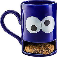 """Keks-Becher """"Mug Monster"""" blau"""