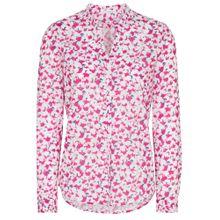 ETERNA Bluse marine / pink / weiß
