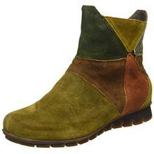 Think! Damen Menscha Kurzschaft Stiefel, Grün (Safari/Kombi 52), 38 EU