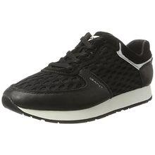 GANT Footwear Damen Linda Sneaker, Schwarz (Black), 41 EU