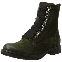 Mjus Damen 544229-0201 Combat Boots, Grün (Alga), 40 EU