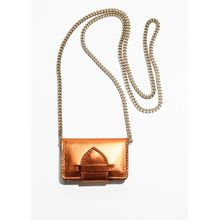 Mirror Nano Shoulder Bag - Brown