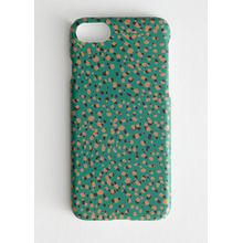 Dotted iPhone Case - Green