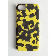 Tortoise iPhone Case - Yellow