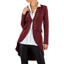 Admiral Uniform Cardigan Jacke Für Damen , Rot In Gr. 36 bei Ital-Design