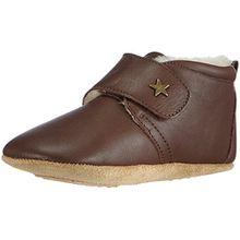 Bisgaard Unisex Baby Wool Star Pantoffeln, Braun (60 Brown), 24 EU