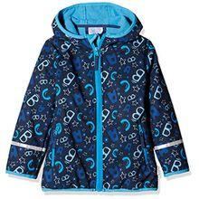Sterntaler Softshell-Jacke für Kinder, Alter: 5 Jahre, Größe: 110, Marine (Blau)