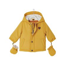 VERTBAUDET Baby Set 2-in1 Winterjacke für Jungen gelb